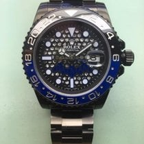 Rolex BATMAN GMT II 116710 LTD EDTION DLC / Skeleleton dial