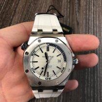 Audemars Piguet Royal Oak Offshore Diver Steel 42mm White No numerals United Kingdom, Manchester