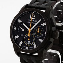 Union Glashütte Belisar Chronograph Steel 43mm Black