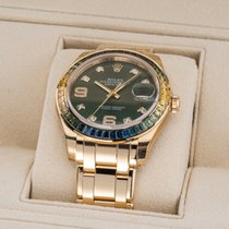 Rolex Pearlmaster Yellow gold 39mm Green United States of America, Florida, Aventura