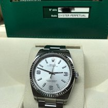 Rolex Oyster Perpetual Steel 36mm Silver Arabic numerals Singapore, Singapore