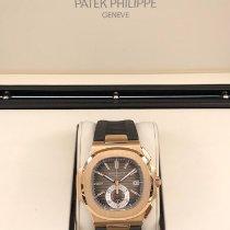 Patek Philippe 5980R-001 Rose gold 2011 Nautilus 40.5mm pre-owned