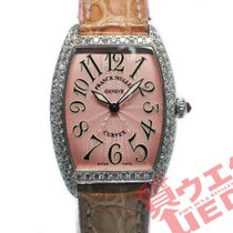 Franck Muller White gold 25mm Quartz 1752 QZ D pre-owned