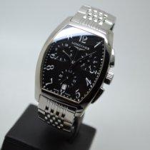 Longines Evidenza Steel 35mm Black Arabic numerals