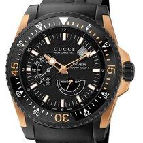 Gucci Or/Acier 46mm Remontage automatique YA136202 nouveau