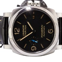 Panerai Luminor Marina 1950 3 Days Automatic Stal 44,00mm Czarny Arabskie
