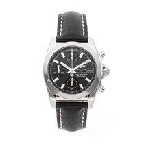 Breitling Chronomat 38 Stahl 38mm Schwarz Keine Ziffern