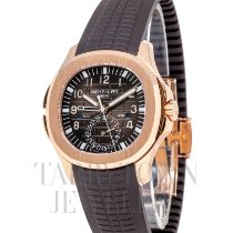 Patek Philippe Aquanaut Rose gold 47mm Brown Arabic numerals United States of America, New York, Hartsdale
