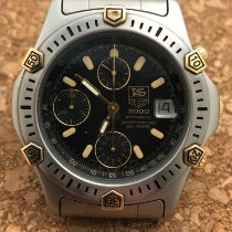 TAG Heuer 2000 Gold/Steel 38mm Black