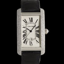 Cartier Tank Américaine White gold 45mm Silver