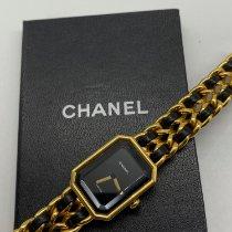 Chanel Steel Quartz Black pre-owned Première