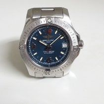 Breitling Colt 36 Steel 36mm Blue