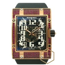 Richard Mille RM016 Pink Gold Ruzicasto zlato 2014 RM 016 38mm rabljen