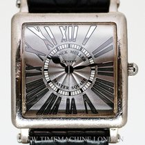 Franck Muller Master Square White gold 32mm Silver Roman numerals United Kingdom, London