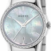 古驰 (Gucci) G-Timeless Small Quartz Mother Of Pearl Dial With...