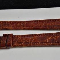 Eberhard & Co. vintage light brown  leather strap croco...