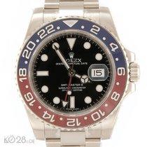 "Rolex GMT Master II BLRO Whitegold ""Pepsi"" Unworn B+P..."