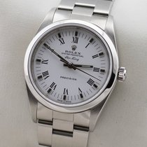 Rolex Air King Precision Acier 34mm Blanc