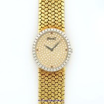 Piaget Classique 18k Yellow Gold Ladies Diamond Watch Pre-owned