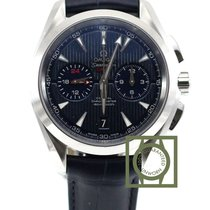 Omega Seamaster Aqua Terra 150m Co-Axial GMT Chronograph 43mm NEW