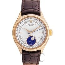 Rolex Cellini Moonphase White