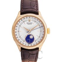 Rolex Cellini Moonphase Weiß