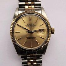 Rolex Datejust 16013 Gut Gold/Stahl 36mm Automatik
