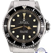 Rolex Vintage 1969 Rolex Submariner No Date Meters First 5513...
