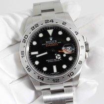 Rolex EXPLORER II 2 NEW FULL SET REF: 216570