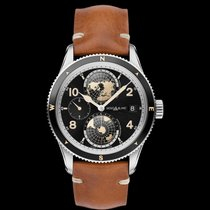 Montblanc 1858 Steel 42mm Black Arabic numerals United States of America, New York, NY
