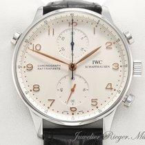 IWC Portugieser Edelstahl Rattrapante Chronograph IW 3712