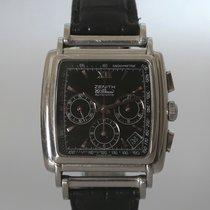 Zenith El Primero Chronograph Acier 36mm Noir Sans chiffres