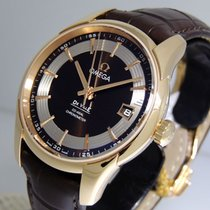 Omega De Ville Hour Vision Rose gold 41mm Brown No numerals United States of America, California, Los Angeles