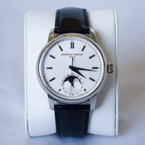 Frederique Constant 40.5mm Automatic 2015 new Manufacture Classic Moonphase Silver