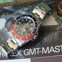 """Rolex 16700 GMT-Master""""Pepsi""""B & P Neuer Service Tritium Dial..."""