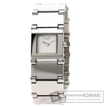 Dolce & Gabbana スクエアフェイス 腕時計 ステンレススチール レディース 【中古】【ドルチェアンドガッバーナ】