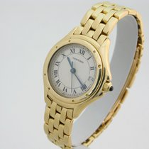 Cartier Cougar Yellow gold 26mm Roman numerals United Kingdom, London