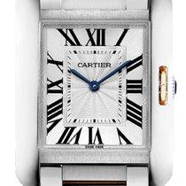 Cartier Tank Anglaise новые Кварцевые Часы с оригинальными документами и коробкой W5310043