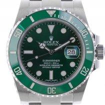 Rolex Submariner Date LV Verde Stahl Keramik Automatik 40mm...
