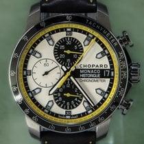 Chopard Chronograph 44.5mm Automatic pre-owned Grand Prix de Monaco Historique Silver