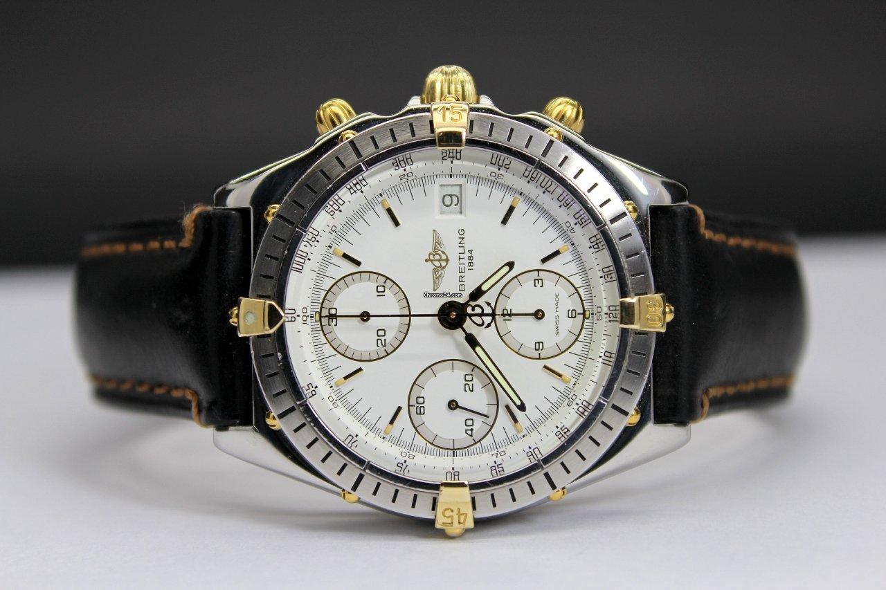824980dd5c8 Breitling Chronomat B13048 Acciaio Oro Automatico por 1.200 € para vender  por um Vendedor particular na Chrono24