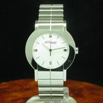 S.T. Dupont 34.8mm Quartz White