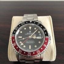 Rolex GMT-Master II Steel 40mm Black No numerals Singapore, 473748