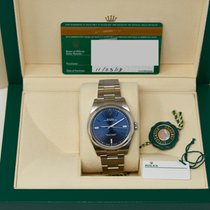 Rolex Oyster Perpetual 39 Steel 39mm Blue No numerals United States of America, California, Los Angeles