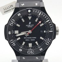 Hublot Ceramic Automatic Black 44mm pre-owned Big Bang King