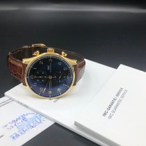 IWC Portuguese Chronograph Red gold 41mm Black Arabic numerals