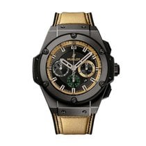 Hublot King Power Ceramica 48mm Negru Fara cifre