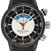 Maurice Lacroix Pontos PT6019-CAB01-330-1 New Carbon 45mm Automatic