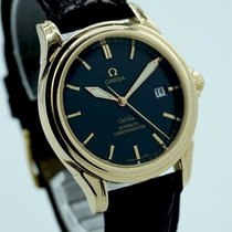 Omega De Ville Co-Axial Yellow gold 37mm Black