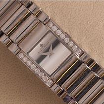 Baume & Mercier Catwalk Stahl 24mm Weiß